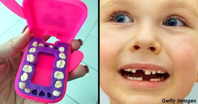 Почему уже нельзя просто выбрасывать молочные зубы ребенка