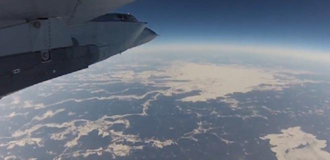 МИГ-31 на высоте 21500 метров на скорости 2500 км/ч! Лучшее, что я видела!