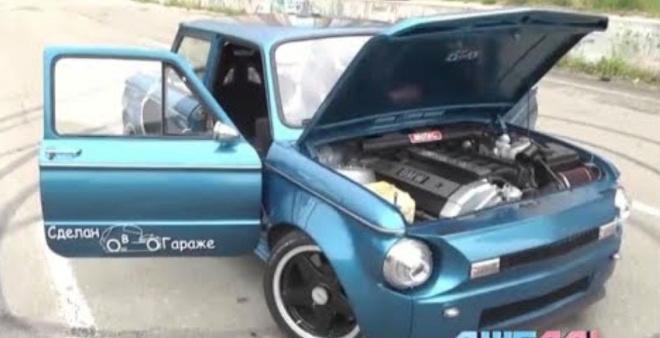 Сделано в гараже: двигатель от BMW 5 серии установили в «Запорожец»