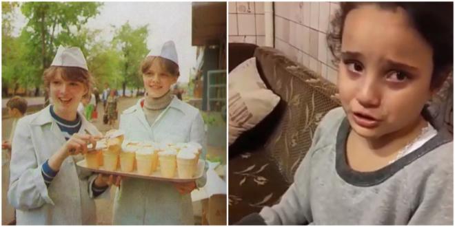 """Маленькая девочка захотела жить в СССР, потому что """"там всё настоящее"""""""