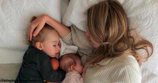Ребенок должен спать возле мамы, пока ему не исполнится три