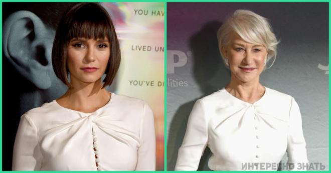 Как одно и то же платье смотрится на молодой девушке и женщине в возрасте