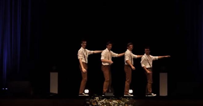 4 подростка танцуют под песню 60-х — но не так, как это делали раньше