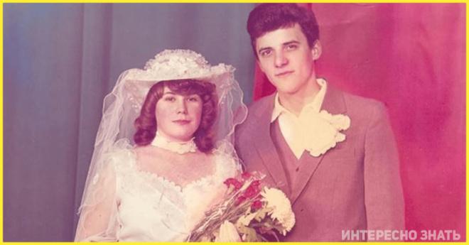 Объем и шик! Свадебные наряды из СССР 80-х годов