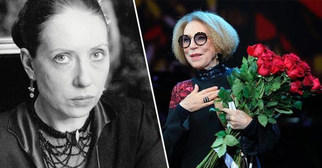 Известная советская актриса Инна Чурикова отмечает свое 76-летие
