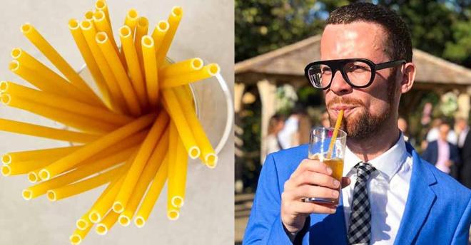 В итальянских барах стали применять макаронины вместо пластиковых трубочек