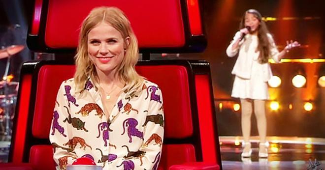 Девочка исполнила 80-летнюю песню, да так, что ее голос еще будет сниться судьям