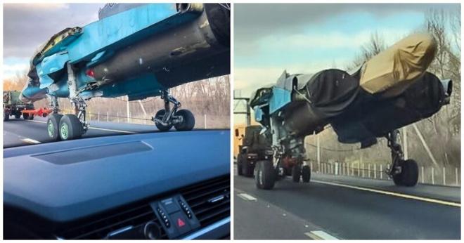 Американцев поразил Су-34 на дороге в Воронеже