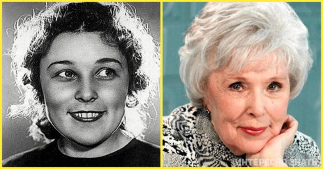 Любимые и талантливые советские актрисы, которым уже немного за 90