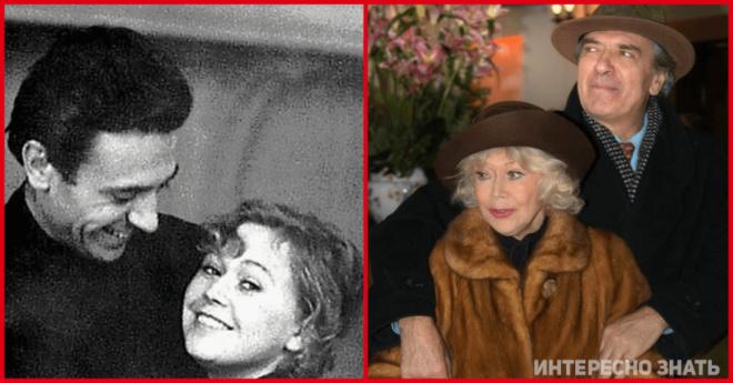 Браки советских знаменитостей, которые продлились всю жизнь