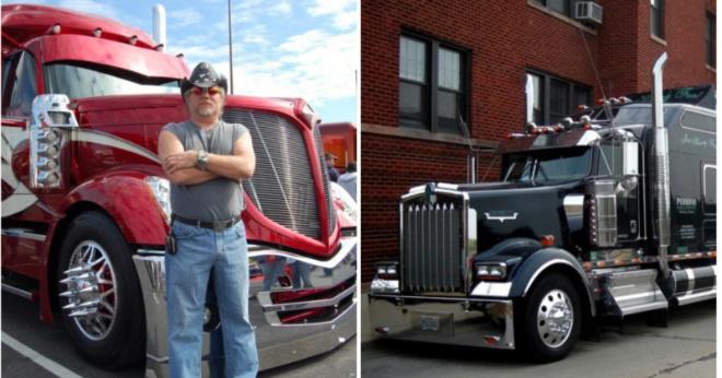 Американские дальнобойщики: как они обустраивают свои дома на колёсах
