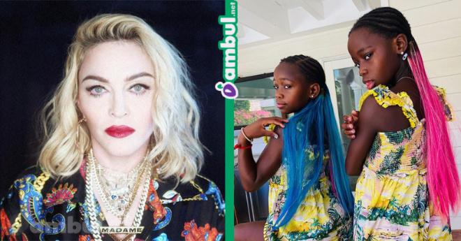 Певица Мадонна с большим шумом отметила 8-летие приемных двойняшек