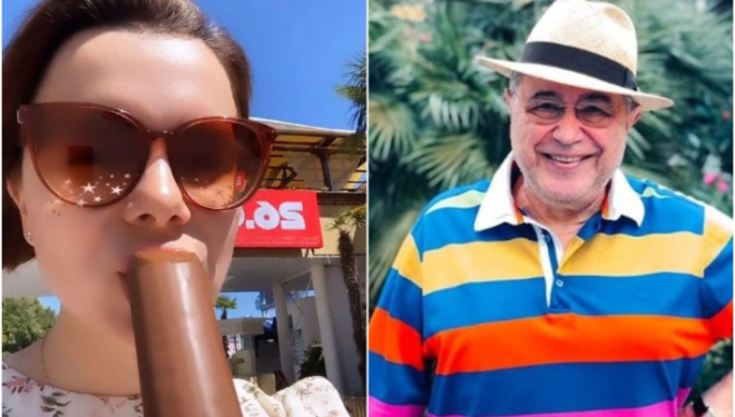 «Как доярка» : Петросян показал снимки Брухуновой на отдыхе в Сочи