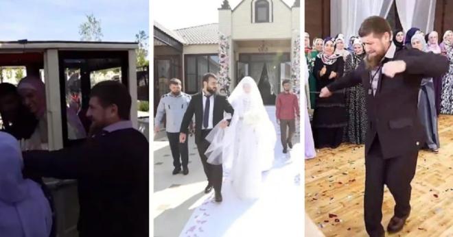 Кадыров показал свадьбу племянника