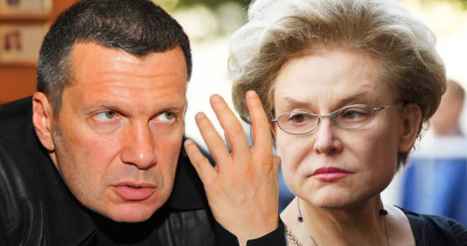Владимир Соловьев о золотом дворце и квартирах Малышевой в Америке: «Она замечательный врач и не богато живет»