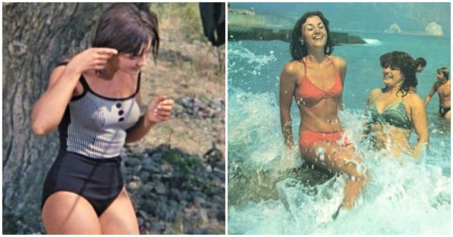 Девушки СССР в купальниках