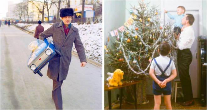 Новый год из детства: 15 снимков, в которых сохранилась теплая и праздничная атмосфера