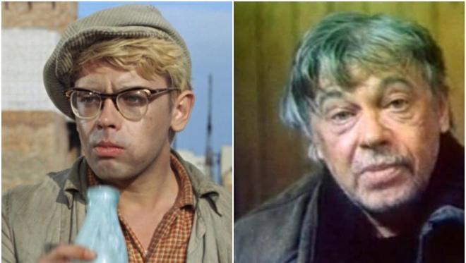 «Какая жалость…» спившиеся известные советские актеры.