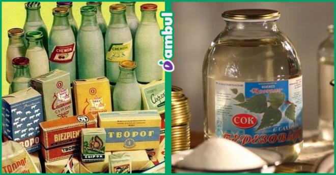 Несколько продуктов из советского союза, вкус которых мы помним до сих пор