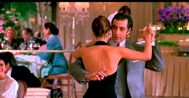 """8 800 000 просмотров: лучшее танго в истории кинематографа. Фрагмент из фильма """"Запах женщины"""""""