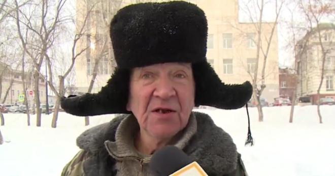 Говорящий по-французски дворник из Томска оказался бомжом