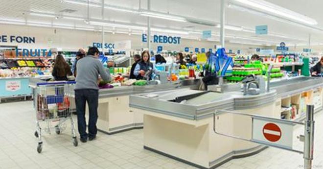 В Европе открыли магазин для нищих