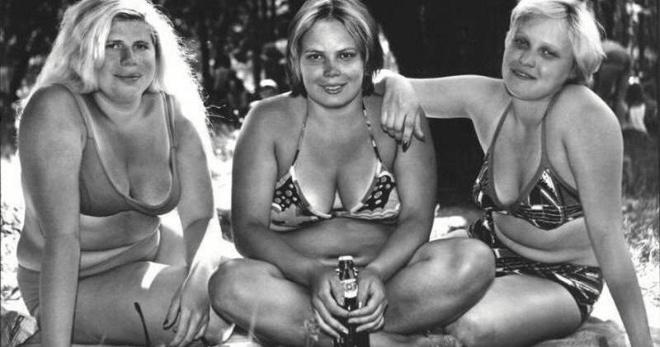 Полураздетый СССР: фото женских купальников с 20-е по 80-е годы