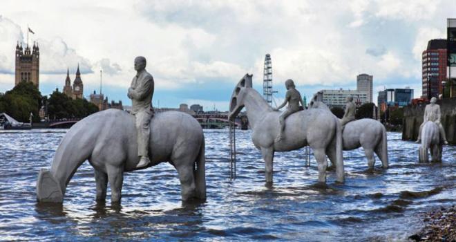 Эти скульптуры в Лондоне можно увидеть лишь изредка. Узнайте, что они обозначают