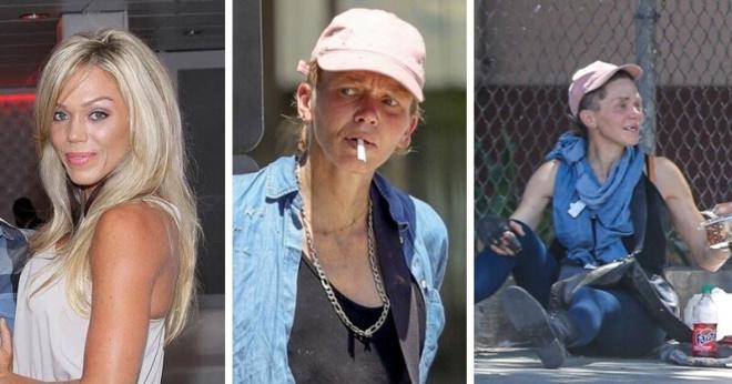 Без крова и без зубов: бывшая фитнес-модель бомжует в Лос-Анджелесе