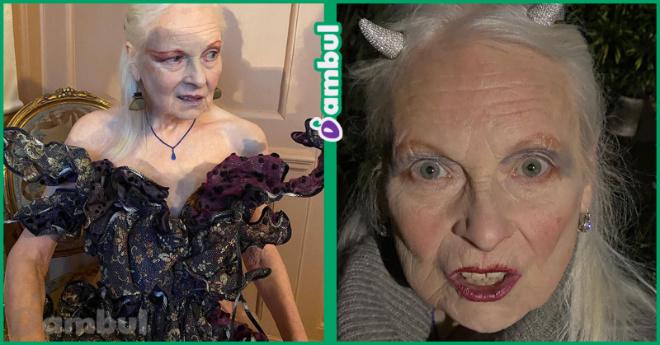 «А под платьем ничего нет»: 79-летняя дизайнер надела экстремальное мини
