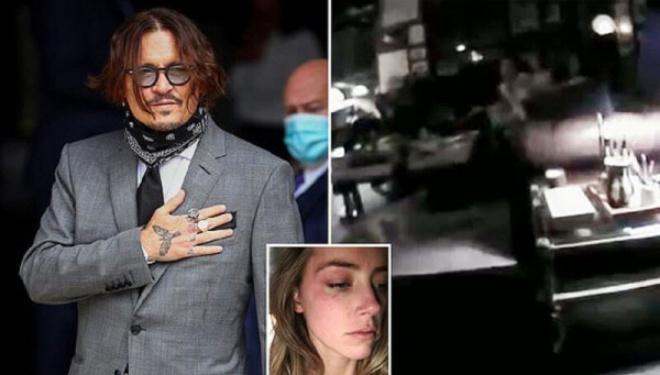 Полицейская камера доказала, что Джонни Депп не бил жену