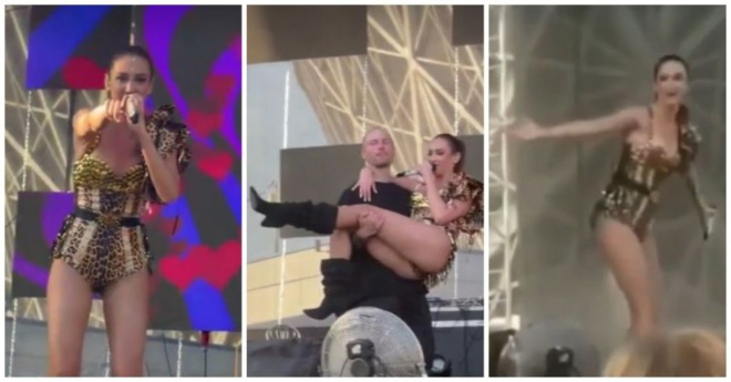 Бузова сорвала концерт в Волгограде