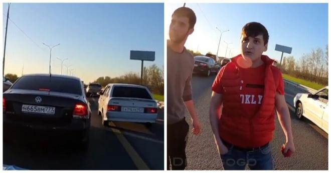 Автолюбители заставили чеченцев-обочечников соблюдать ПДД