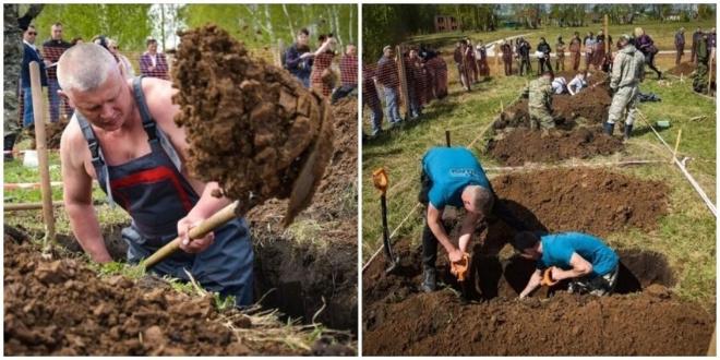 В Новосибирске устроили конкурс «Могильный беспредел», чтобы привлечь внимание молодёжи