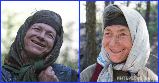 Отшельница Агафья Лыкова показала новую баню и русскую печь
