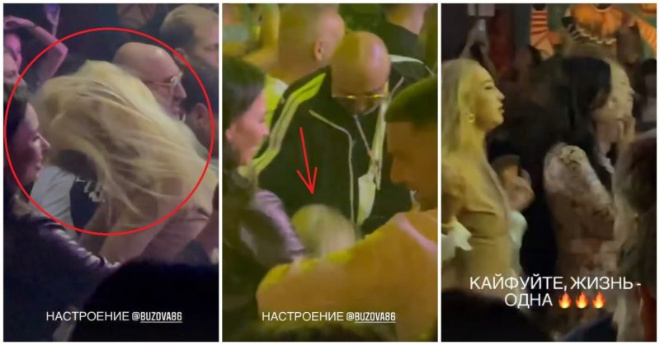 Кафельникова засняла не стоящую на ногах Бузову