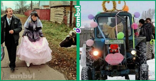 10 сельских свадеб, от которых слезы- от смеха