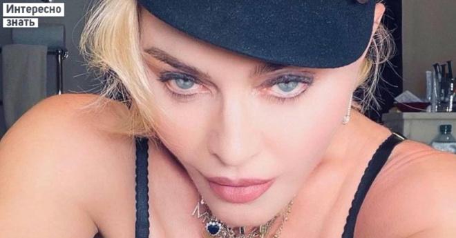 Впала в маразм. 63-летняя Мадонна показалась в фате и боди, собравшись под венец