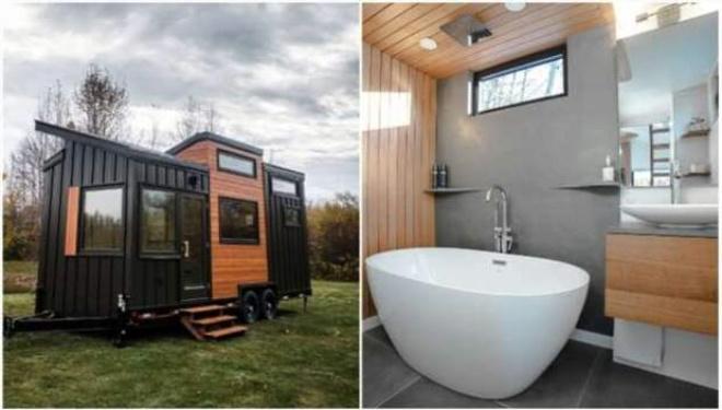 Роскошный крошечный домик, в котором можно жить при -40